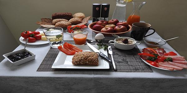 Beispiel für gesundes Frühstück