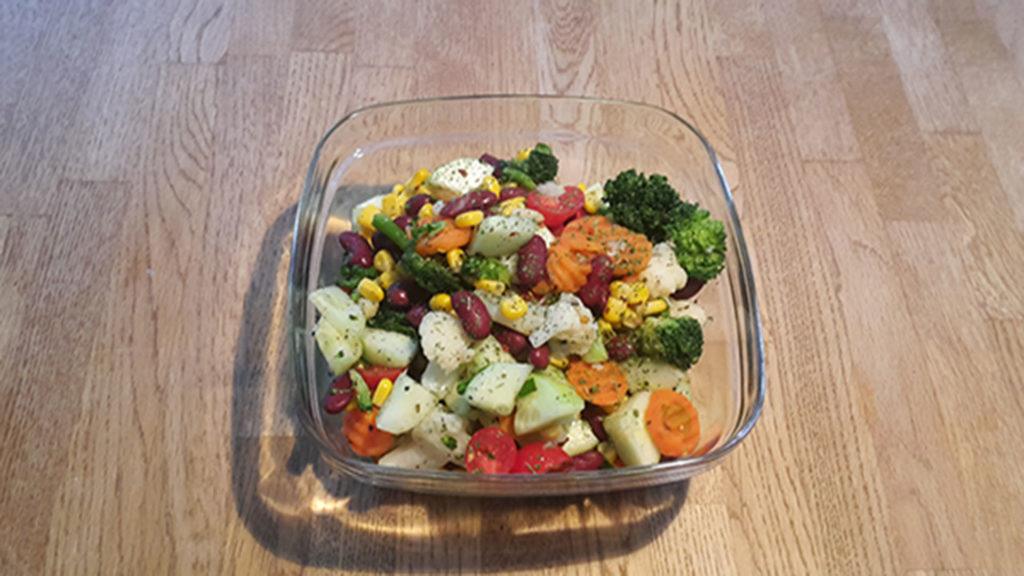 Bohnensalat (Rezept mit Bild) auf Kochen-verstehen.de