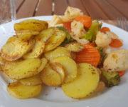 Bratkartoffeln mit Kaisergemüse
