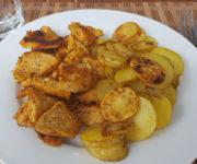 Bratkartoffeln mit Pute