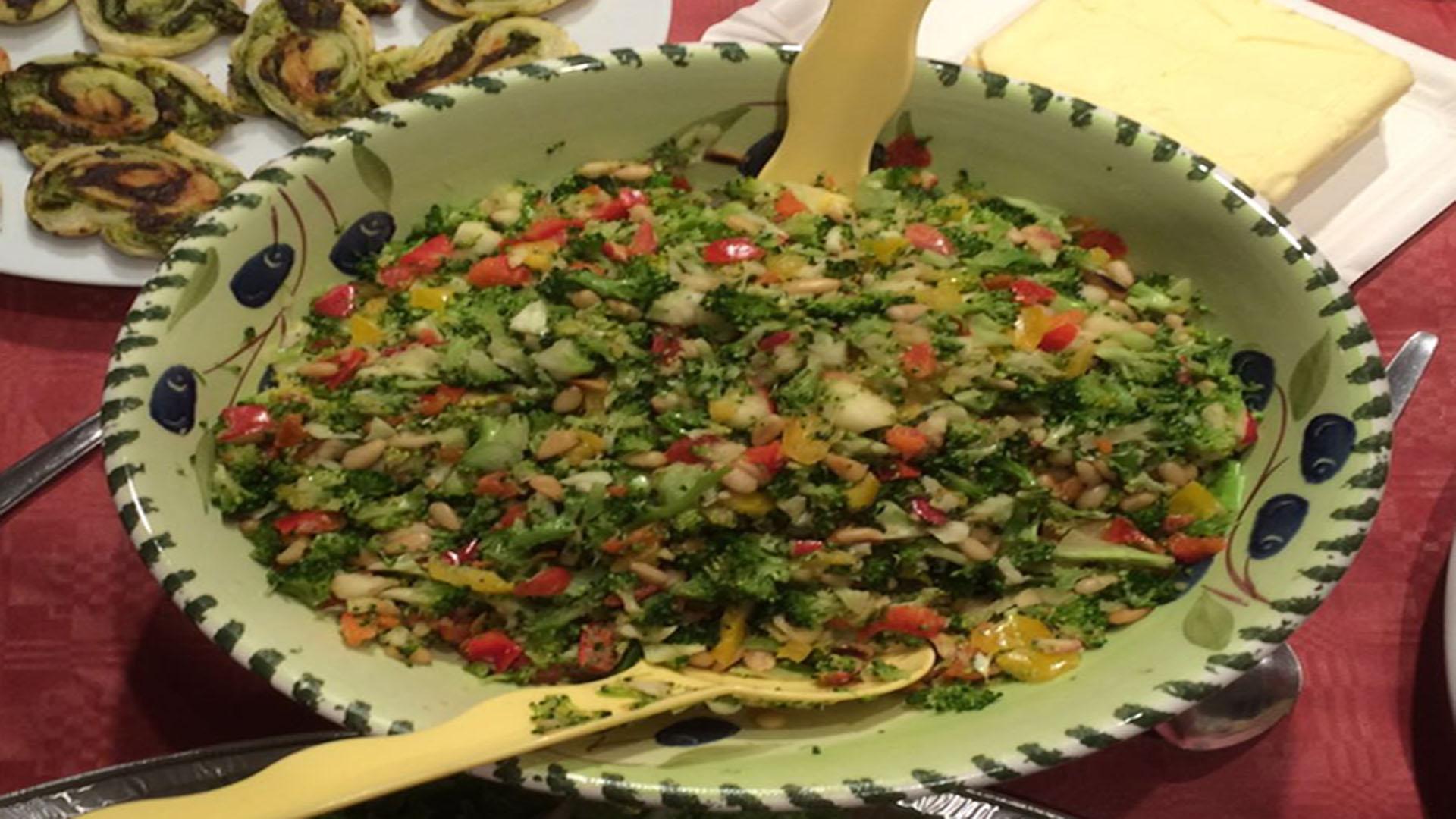 Bunter Brokkoli-Salat