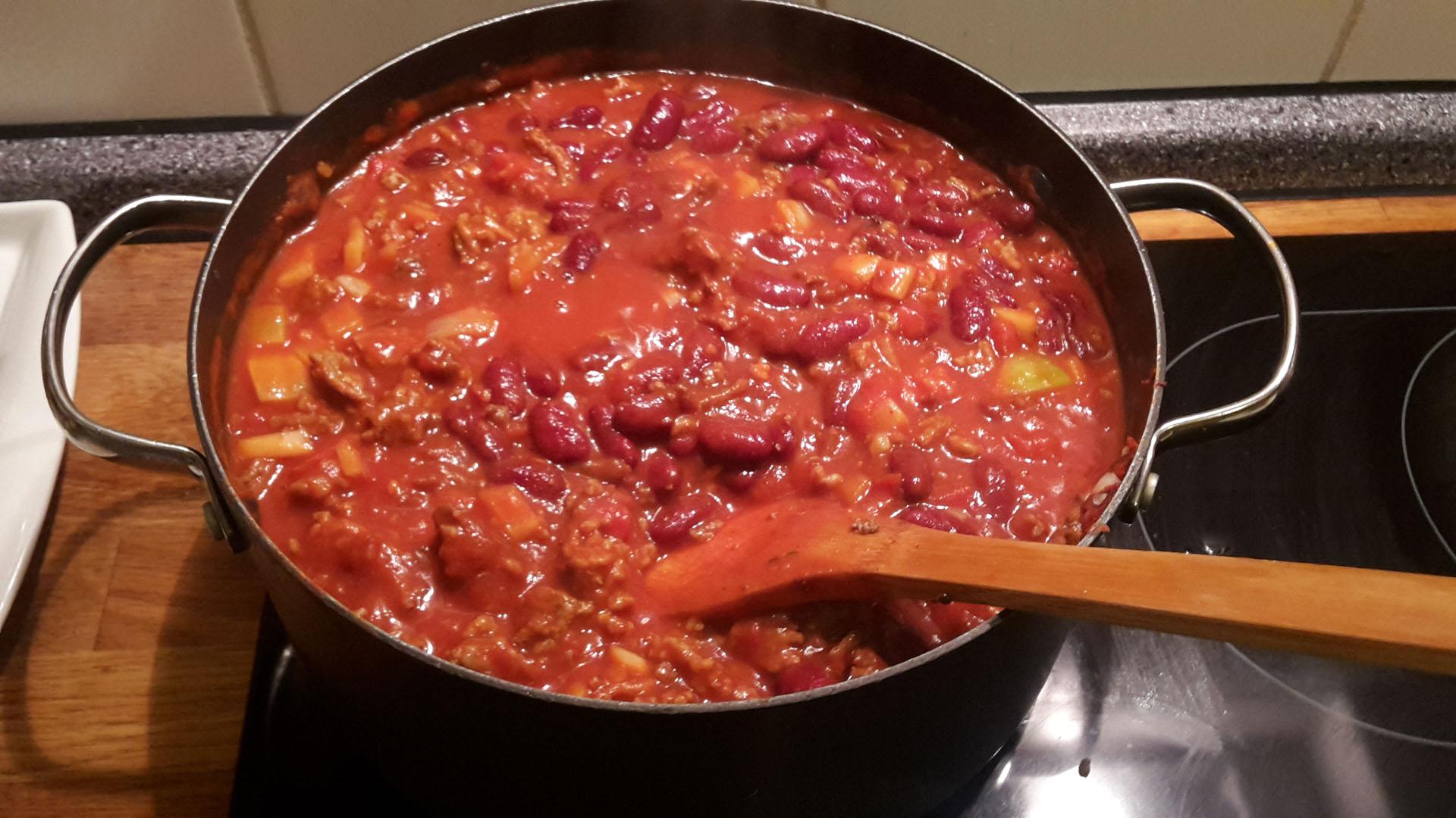 chili con carne rezept mit bild kochen. Black Bedroom Furniture Sets. Home Design Ideas