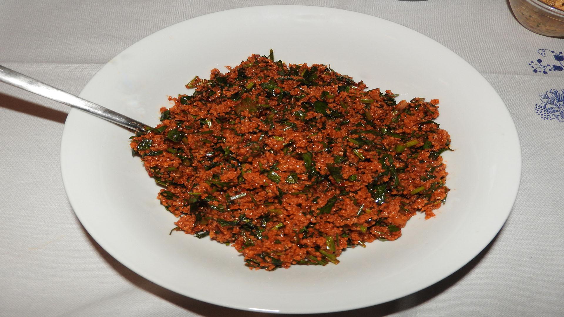Couscous-Salat mit Petersilie auf Kochen-verstehen.de