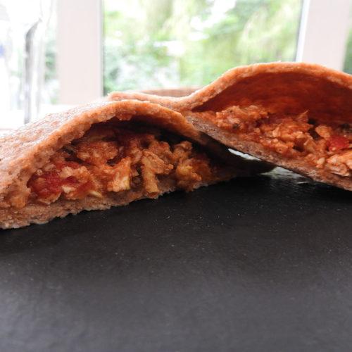 Dinkel-Maultaschen mit Tomatenfüllung auf Kochen-verstehen.de