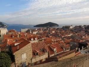 Dubrovnik von Oben auf die Altstadt