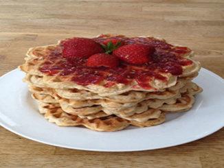 Eierwaffeln mit Marmelade (Rezept mit Bild) auf Kochen-verstehen.de