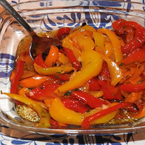 Eingelegte Paprika auf Kochen-verstehen.de
