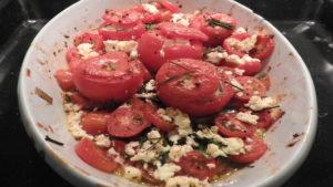 Gefüllte Tomaten mit Schafskäse