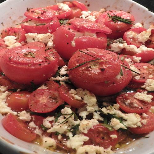 Gefüllte Tomaten mit Schafskäse auf Kochen-verstehen.de