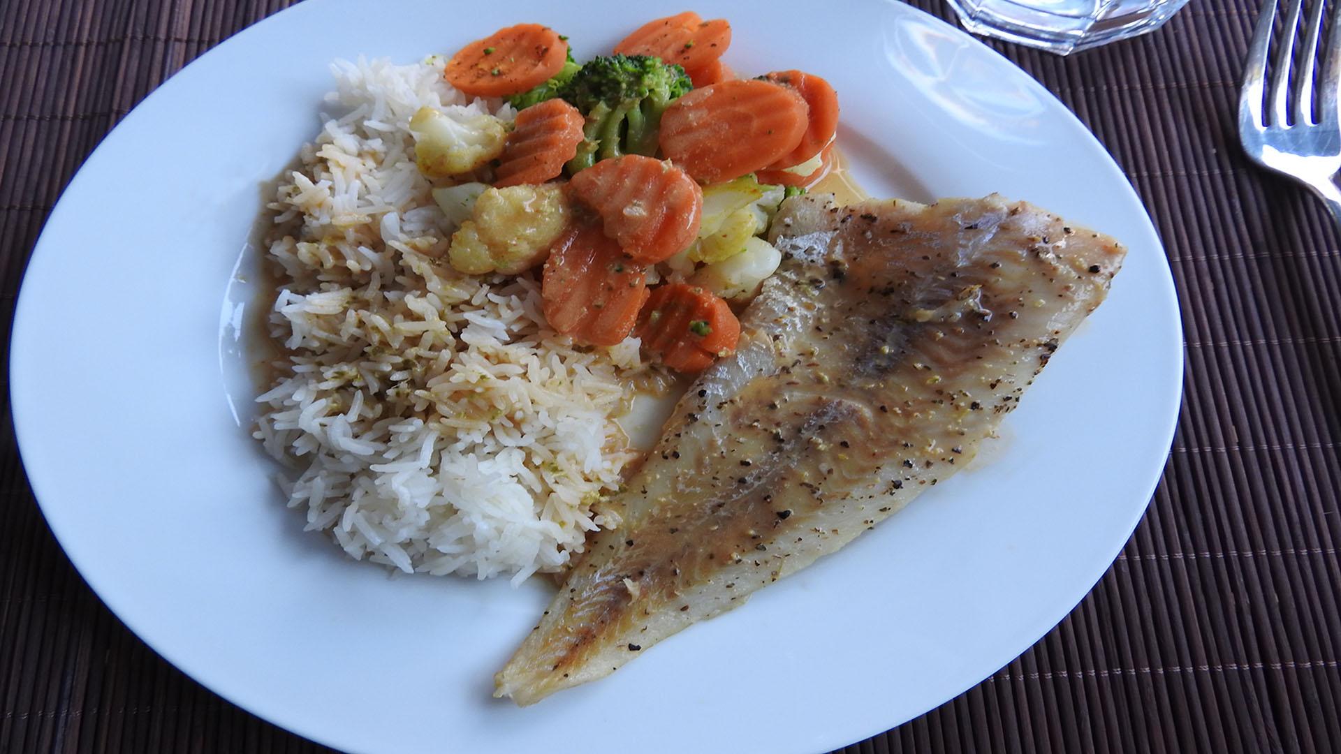 Gegrillter Seelachs mit Pfeffersauce auf Kochen-verstehen.de