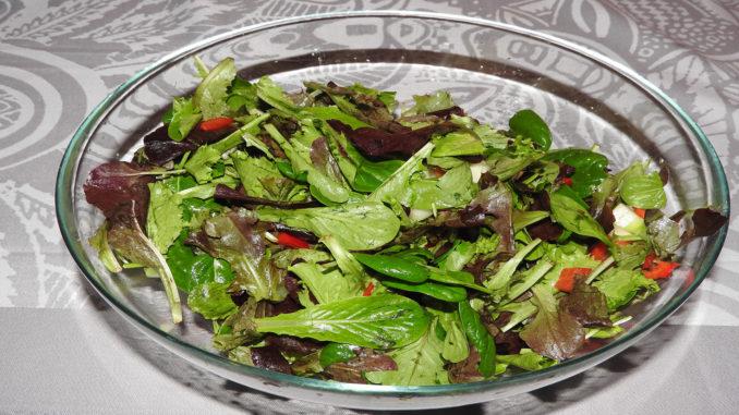 Gemischter Blattsalat (Rezept mit Bild) auf Kochen-verstehen.de