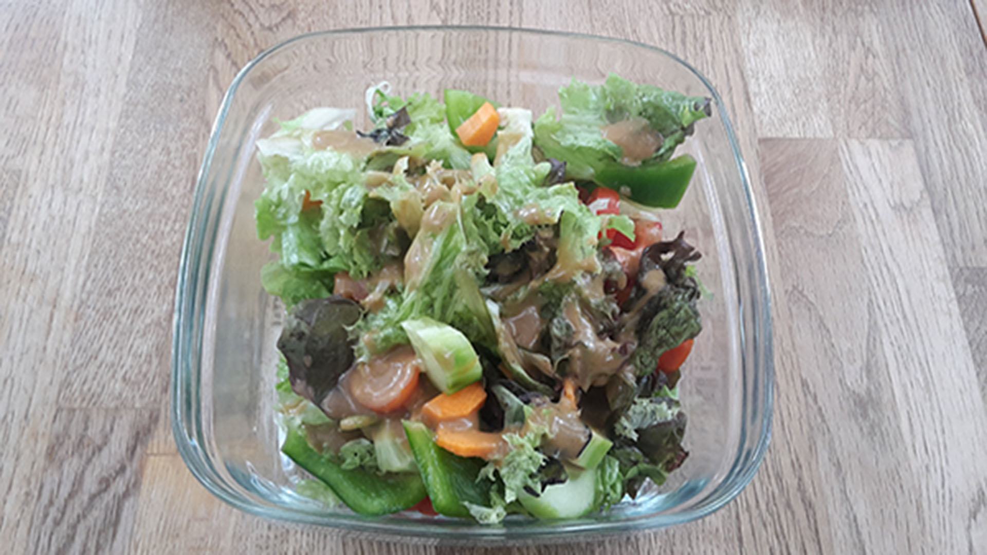 gemischter salat rezept mit bild kochen. Black Bedroom Furniture Sets. Home Design Ideas