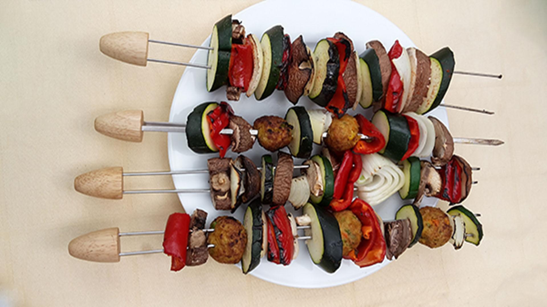 Gemüse-Grillspieße