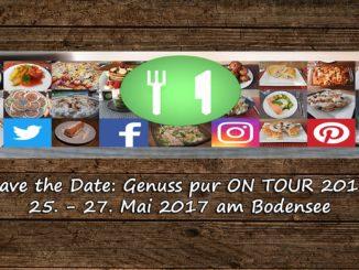 Genuss pur ON TOUR 2017 auf Kochen-verstehen.de