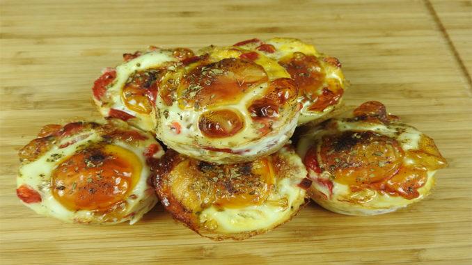 Gesunde Spiegelei-Muffins auf Kochen-verstehen.de