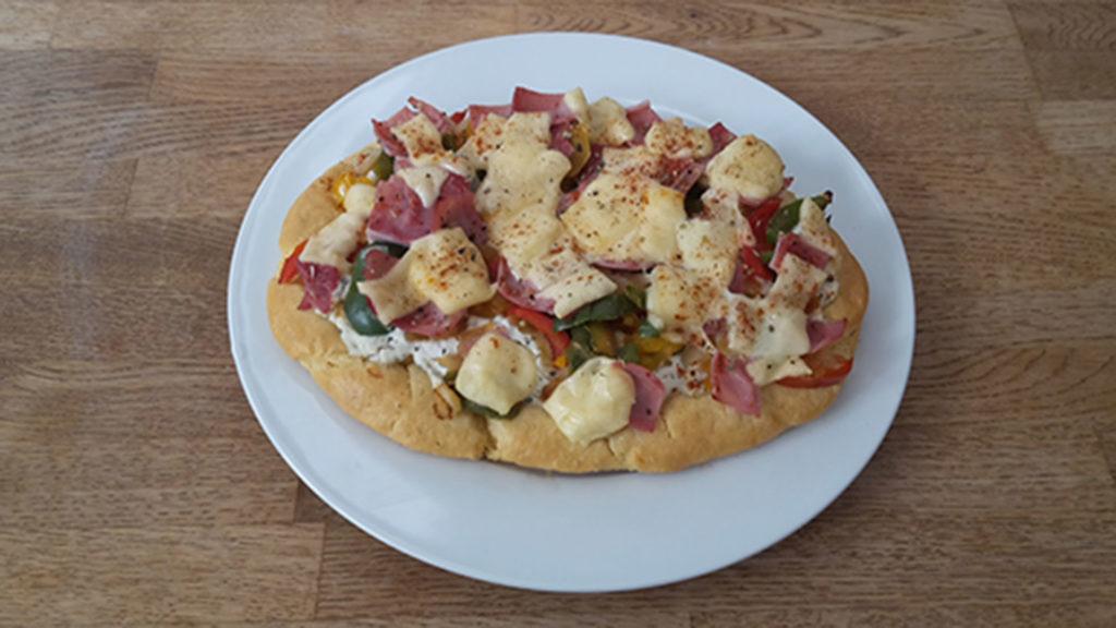 Gesundes Pizzabrot (Rezept mit Bild) auf Kochen-verstehen.de