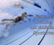 Gesundes Training mit einfachen Sportarten