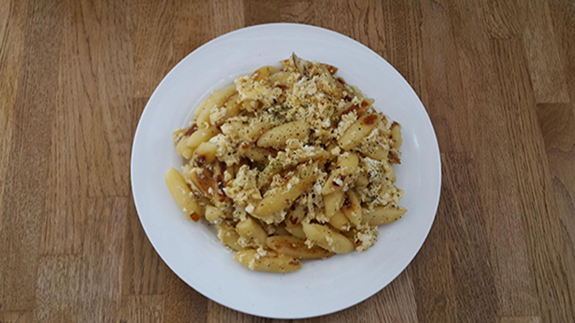 Gnocchi mit Ei und Käse (Rezept mit Bild) auf Kochen-verstehen.de