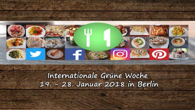 Grüne Woche 2018 auf Kochen-verstehen.de