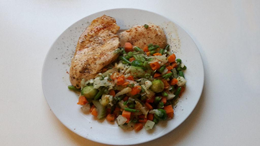 Hähnchen mit Reis und Suppengemüse (Rezept mit Bild) auf Kochen-verstehen.de