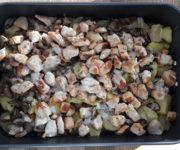 Hähnchen-Pilz-Auflauf