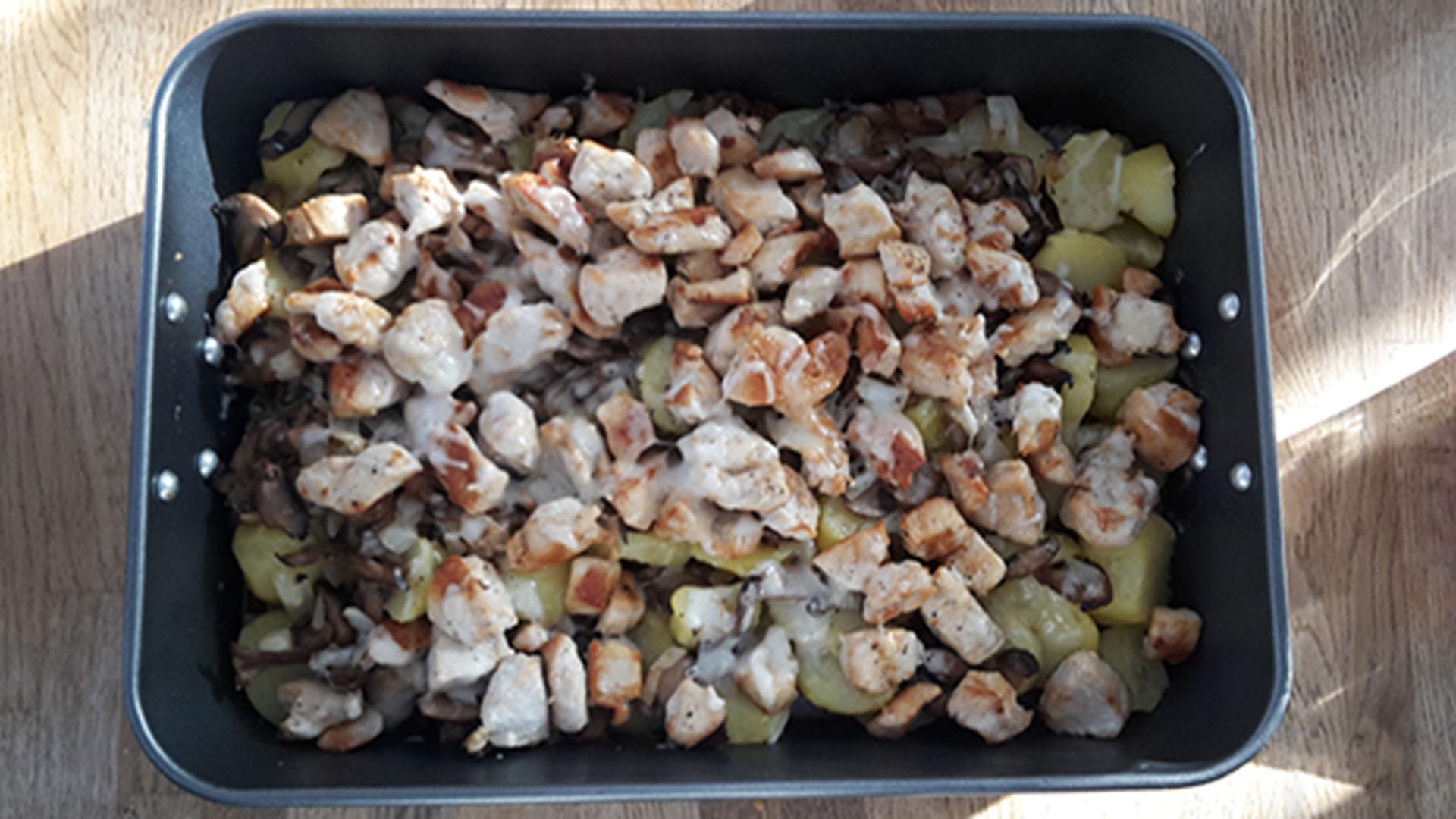 Hähnchen Pilz Auflauf Rezept Mit Bild Kochen Verstehende