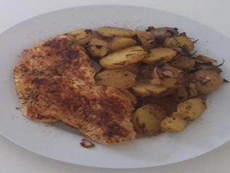 Hähnchen mit Bratkartoffeln (Rezept mit Bild) auf Kochen-verstehen.de