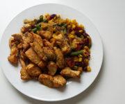 Hähnchen mit mexikanischem Gemüse