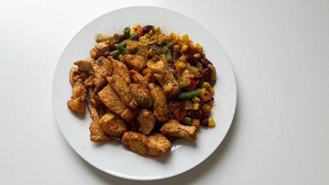 Hähnchen mit mexikanischem Gemüse (Rezept mit Bild) auf Kochen-verstehen.de