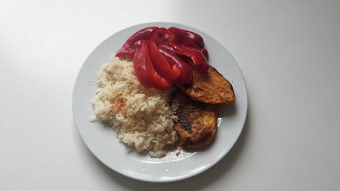 Reis mit Hähnchen und Paprikastreifen (Rezept mit Bild) auf Kochen-verstehen.de