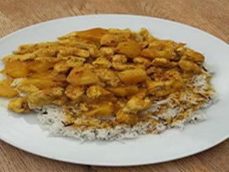 Hähnchen-Curry mit Reis (Rezept mit Bild) auf Kochen-verstehen.de