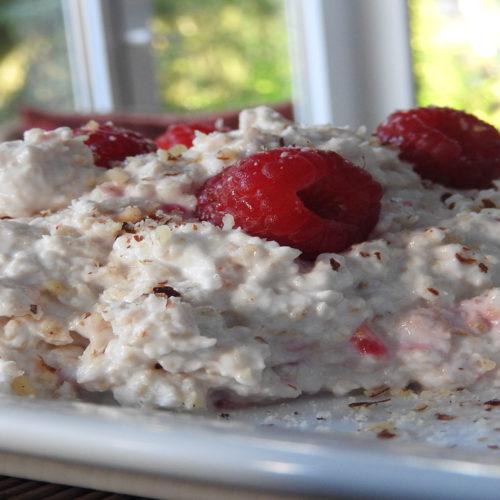 Himbeer-Porridge auf Kochen-verstehen.de
