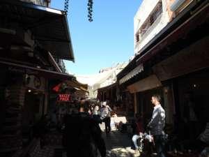 Marktsraße in Izmir
