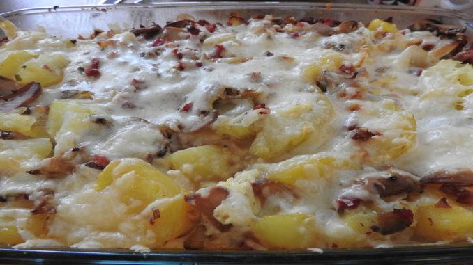 Kartoffelauflauf mit Ei und Käse auf Kochen-verstehen.de
