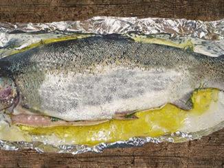 Knoblauch-Zitronen-Forelle (Rezept mit Bild) auf Kochen-verstehen.de
