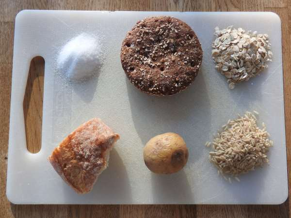 Beispiele für Kohlenhydrate