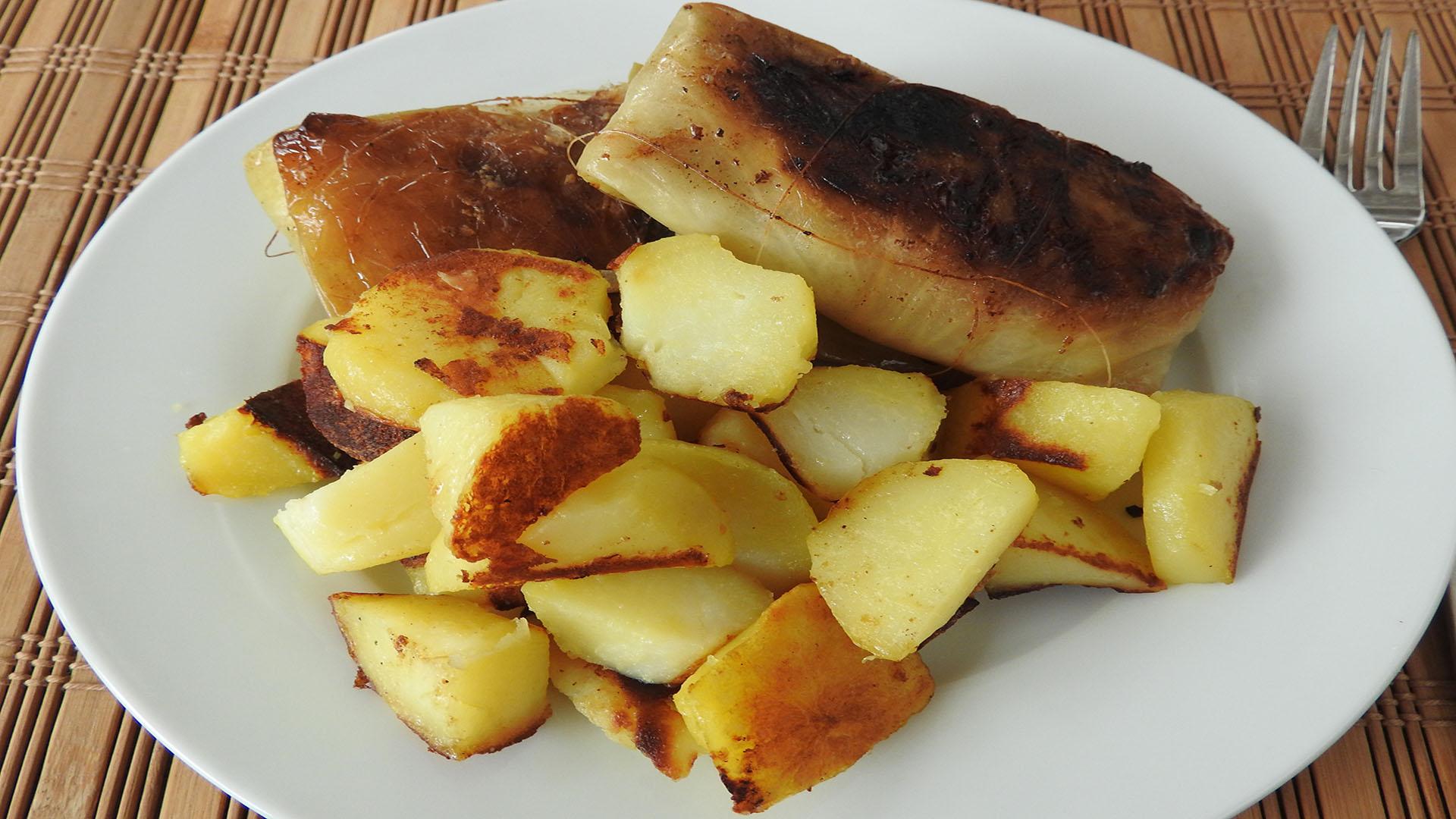Kohlrouladen mit Bratkartoffeln auf Kochen-verstehen.de