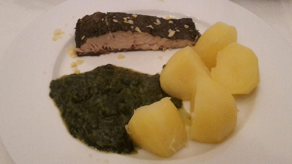 Lachs Provence mit Spinat und Kartoffeln auf Kochen-verstehen.de