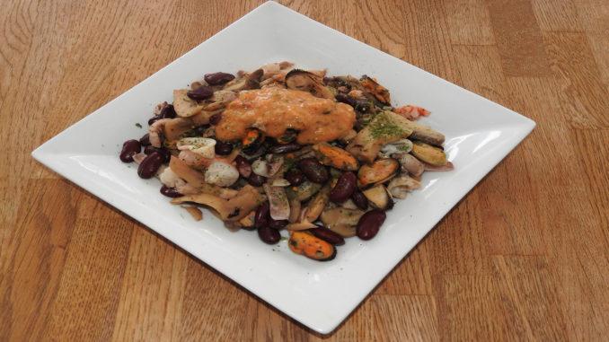 Meeresfrüchte-Paella auf Kochen-verstehen.de