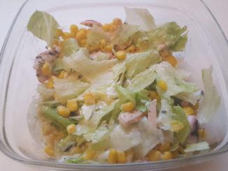 Meeresfrüchtesalat mit Tzatziki auf Kochen-verstehen.de