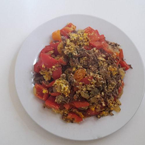 Menemen (Rezept mit Bild) auf Kochen-verstehen.de