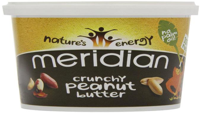 Meridian Crunchy Peanut Butter im Test auf Kochen-verstehen.de