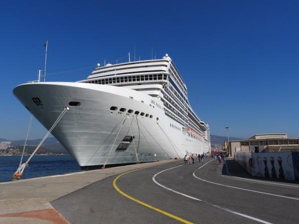 Kreuzfahrt durch das Mittelmeer