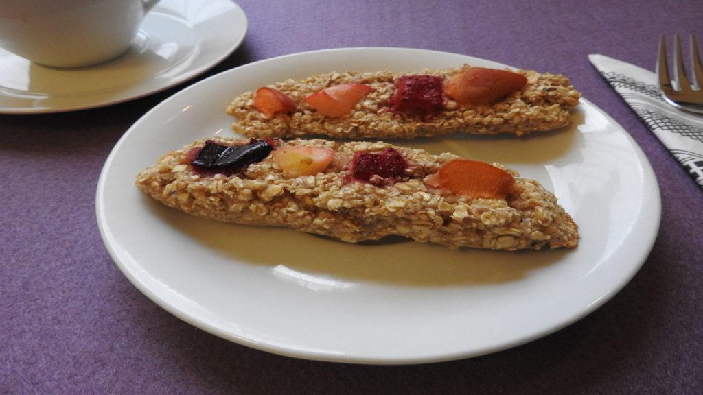 Müsliriegel mit Obst auf Kochen-verstehen.de