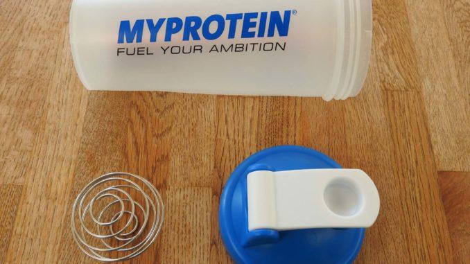 Myprotein Shaker im Test auf Kochen-verstehen.de