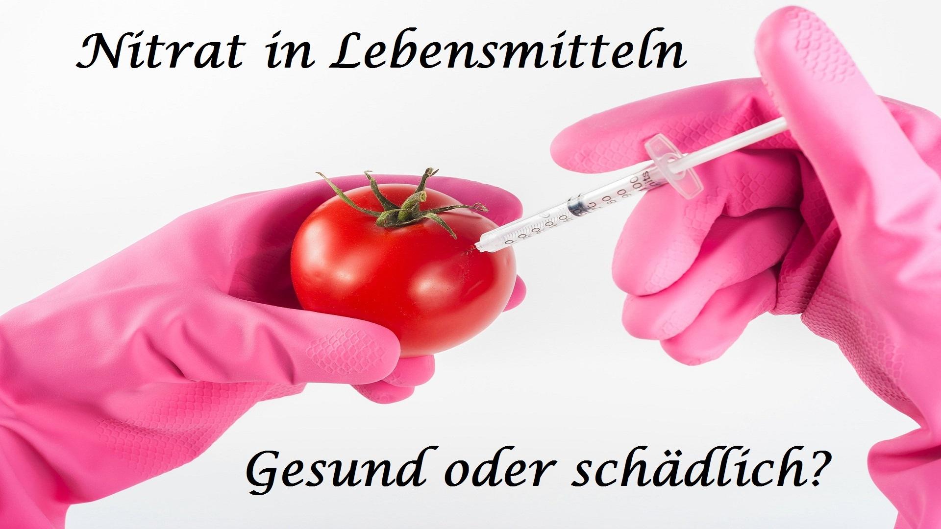 Nitrat in Lebensmitteln auf Kochen-verstehen.de