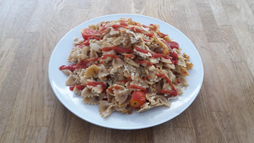 Nudel-Ei-Pfanne (Rezept mit Bild) auf Kochen-verstehen.de