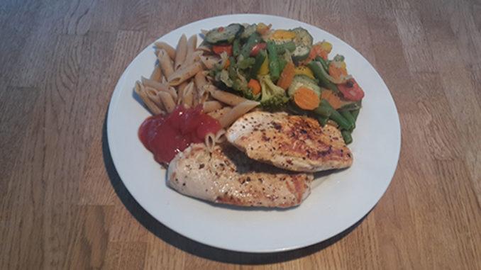 Nudeln mit Hähnchen und Italienischem Gemüse (Rezept mit Bild) auf Kochen-verstehen.de