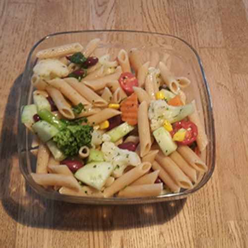 Nudelsalat (Rezept mit Bild) auf Kochen-verstehen.de