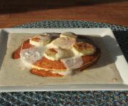 Pancakes mit Protein-Creme